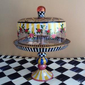 4b.paintedglasscakestand